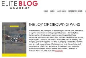海外有名ブログ Elite Blog Academy