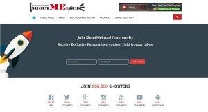 世界の稼ぐブログのひとつShoutmeloud。海外アフィリエイトブログ